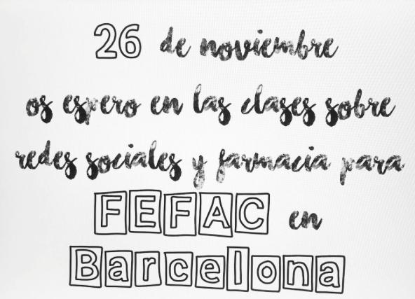 FEFAC clases Inma Riu redes sociales