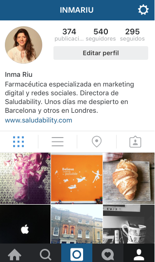 Instagram Farmacia