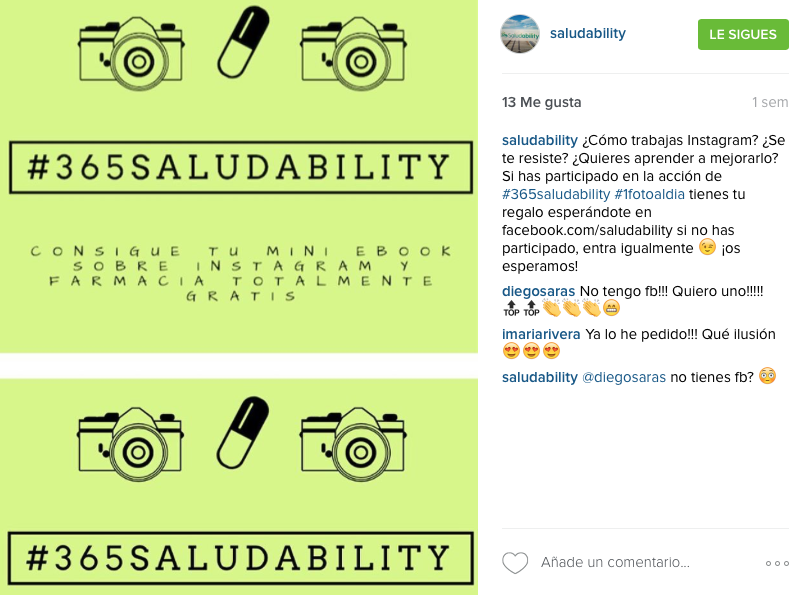 Instagram Farmacia