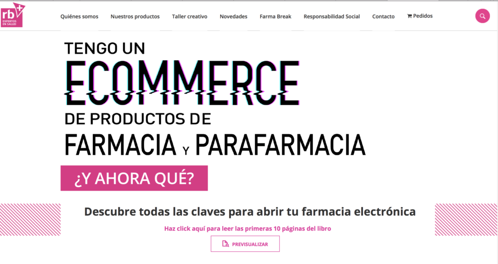 Ecommerce farmacia