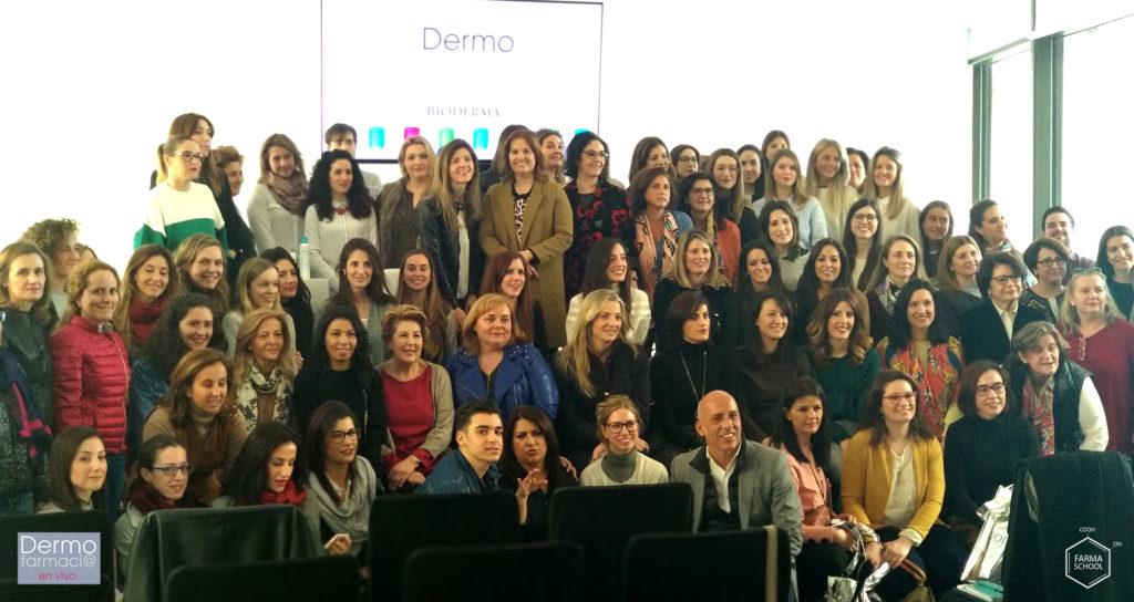 Dermofarmacia en vivo foto grupo